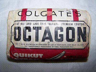 Vintage Colgate's Octagon Laundry Bar Soap Old Antique