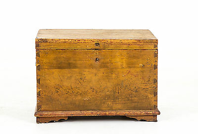 B-368 Antique Pine Box, Blanket Box, ToyBox, Tool Chest