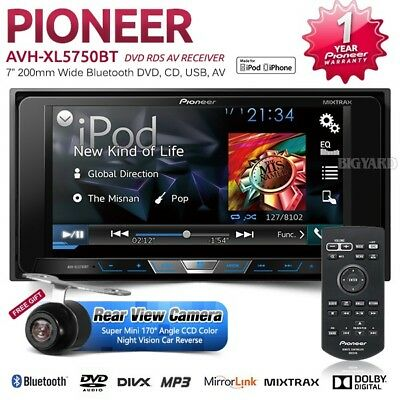 PIONEER AVH-XL5750BT 200mm Toyota Double DIN Mirror Link Car DVD Player Stereo