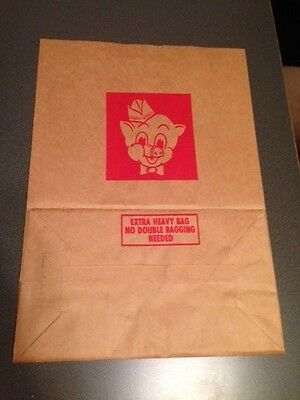 Vintage Piggly Wiggly Grocery Bag-great condition! (#6-5)