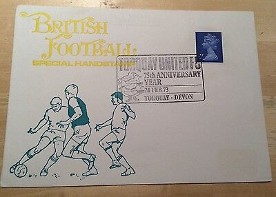 British Football Cover - Torquay United FC 75th Anniversary