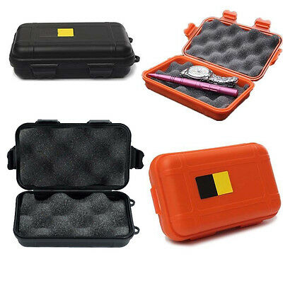 Outdoor Plastic Case Waterproof Airtight Survival Container Storage Carry BOX