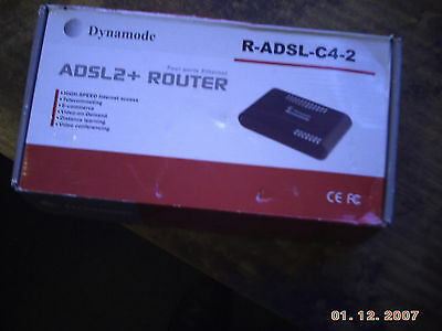 Dynamode High Speed Adsl 2+ Four Port Router