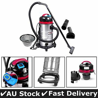 Industrial Commercial Bagless Wet Dry Vacuum Cleaner 30L With blowing function