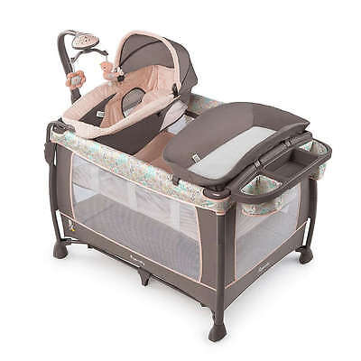 InGenuity Soothe Me Softly Piper Fashion Playard Brand New