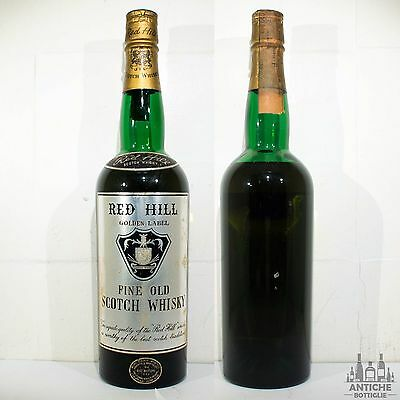Red Hill Golden Label Fine Old Scotch Whisky Buton 75 Cl 43°