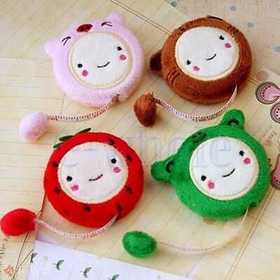 1.5m/60'' Cute Cartoon Plush Retractable Tape Measure Ruler Sewing Tool Cool DT