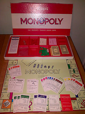 Monopoly Property Trading Board Game Vgc Complete Usa Waddingtons