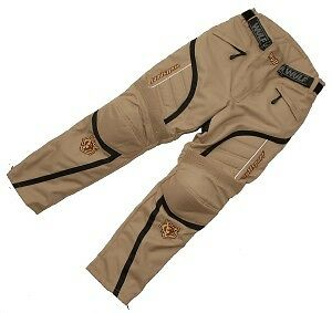 Cub alpina motocross sand motorbike road rally trail beige trouser pants