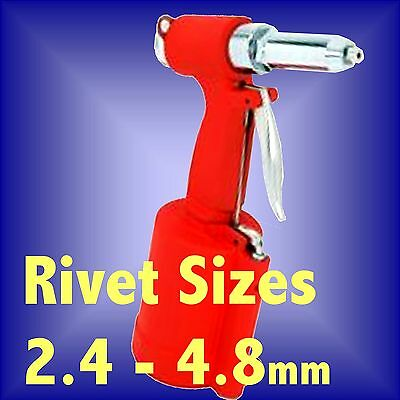 Air Hydraulic Riveter Pop Blind Rivet Gun Pneumatic 3/32 1/8 5/32 3/16 rivet