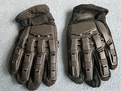 Paintball Airsoft Hunting Tactical Cycling Gloves Full Finger Armour Protection