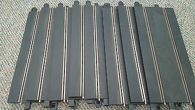 Scalextric 'Sport' Long Straights x 8...used but in good condition!