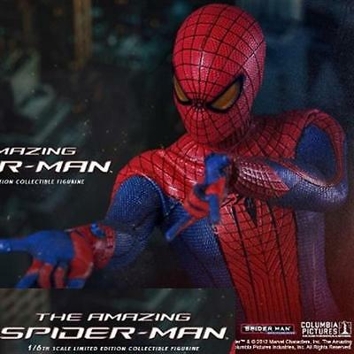 Spiderman Amazing Spider Man Hottoys Hot Toys 1/6 Action Figure Pa Aq3562