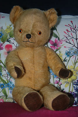 Pedigree Teddy Bear Vintage Antique Old - LOVELY ORIGINAL CONDITION!!