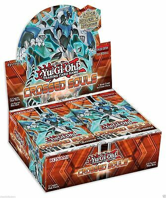 YUGIOH Crossed Souls Sealed Booster Box IN STOCK! Factory Sealed!