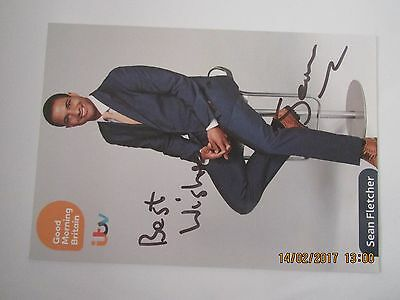 Sean  Fletcher, (Good Morning Britain ) Hand Signed Cast Card,