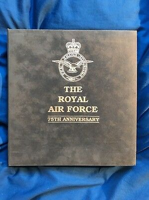 The Royal Air Force 75th Anniversary 30 Signed & Flown Cover