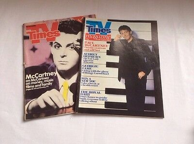 The Times TV & Radio Guide featuring Paul McCartney