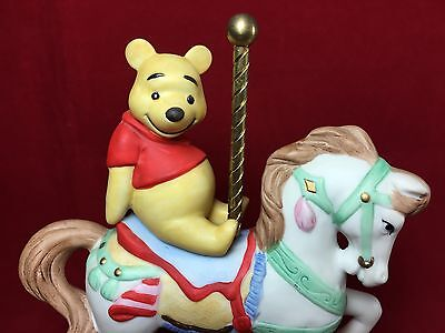 Disney New England Collector's Society Carousel WINNIE THE POOH Figurine