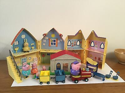 Peppa Pig Houses, Figures, Train Plus More Bundle