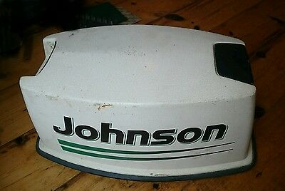 Evinrude Johnson OMC 25 hp 35 hp Cowl Cowling Cover Hood Lid Outboard Motor 1978