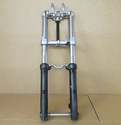 BMW F800GT 2013 Front forks fork legs with yokes (2596)