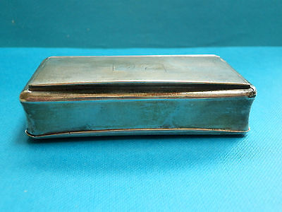 A nice French 19thc solid silver fancy snuff box with engine turned decoration.