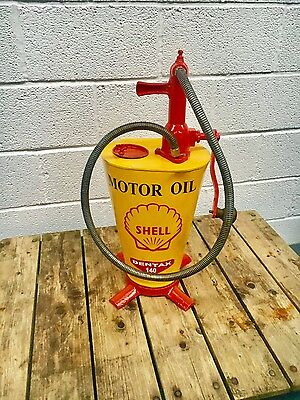 Vintage Shell oil Pump  ,  Man Cave , Games Room