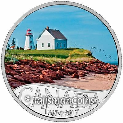 2017 Celebrating Canada's 150th 8 Panmure Island Lighthouse PEI $10 Silver Proof