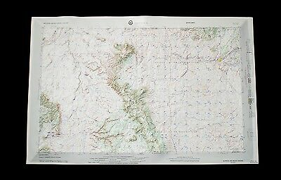 Vintage Hubbard Raised Relief Map - Shiprock, New Mexico