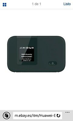 Router Modem 4G Huawei R215 LIBRE