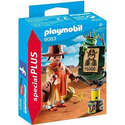 Playmobil Special 9083 Cowboy Wanted Poster Vaquero querido NEW BOXED Worldwide