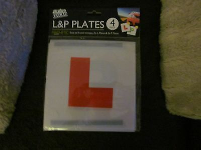 Magnetic L Plates X2 And P Plates X2