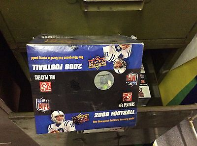 2008 Upper Deck NFL Unopened/sealed Box, 1 Jersey Card Per Box