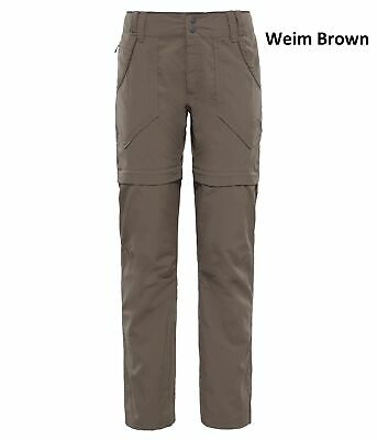 The North Face Womens Horizon Convertible Plus Trousers -Lightweight, Flexible