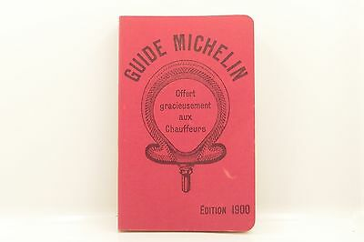 Le Guide Michelin/edition 1900