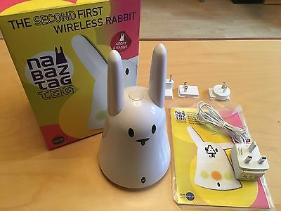 Nabaztag:Tag - Second Generation Internet Smart Rabbit - Excellent Condition!