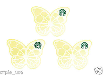 STARBUCKS Korea 2017 Butterfly Card Set Spring Limited Edition