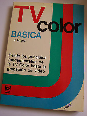 Tv Color Basica. Editorial Rede 1983