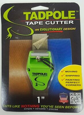 NEW TadPole Tape Cutter Moving Shipping Painting 1""