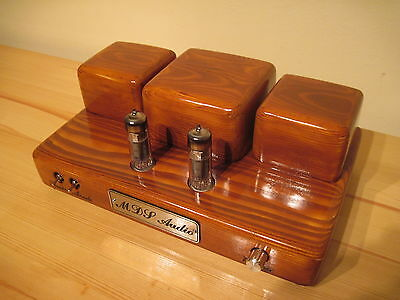 Hand-made Single-Ended Stereo Tube Amplifier by MDS Audio