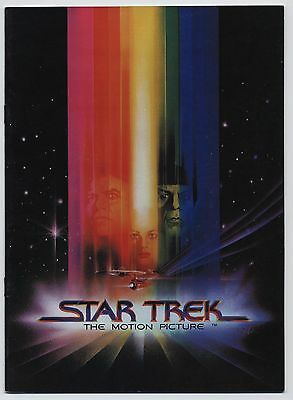 1979 STAR TREK THE MOTION PICTURE Dossier Presse ORIGINAL Programme Japonais