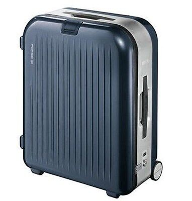 Genuine Porsche Rimowa AluFrame Large Trolley Case. Basalt Black Metallic