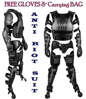 ANTI-RIOT Suit with free GLOVES & Carrying Bag (Size: M & L)