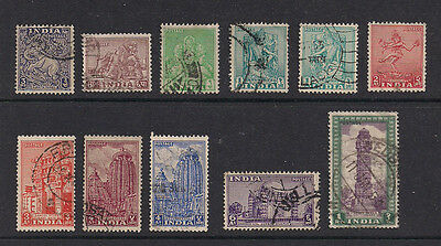 India 1949/51  - Lot of old stamps (ref 529)