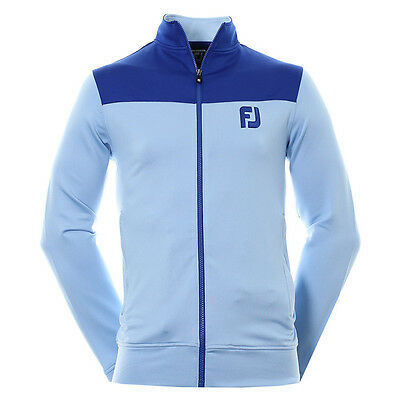Footjoy 2016 Golf Track Jackets, Chill Out Sports tops 92580 Blue