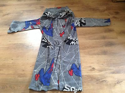 Grey Spiderman Blanket With Sleeves For Younger Boy - By Characterworld