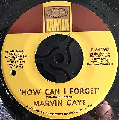 MARVIN GAYE - HOW CAN I FORGET  b/w  GONNA GIVE HER ALL THE LOVE I'VE GOT (1968)
