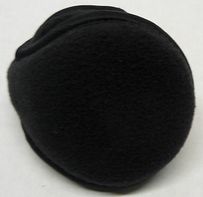 Degrees By 180s Discovery Youth Black Fleece Ear Warmers Earmuffs Muffs