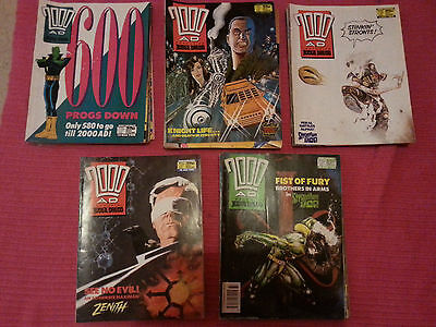 2000AD progs 600-649 - 50 comic collection